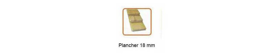 plancher en option du garage en bois Nevis B Lasita Maja en situation