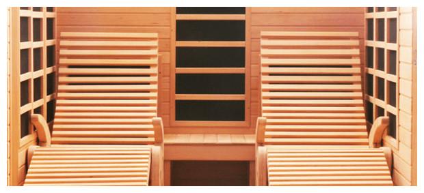sauna Alto- cabine infrarouge détail fauteuil