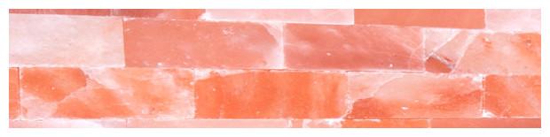 sauna alto sel - détail mur de sel - halothérapie
