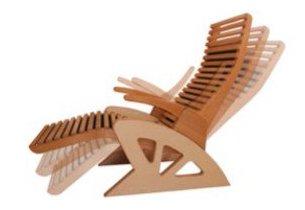 cabine de sauna - fauteuil ergonomique