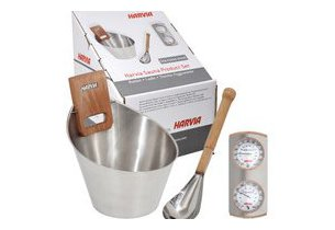 sauna vapeur - kit accessoires