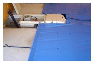 bloc filtration piscine sous bâche