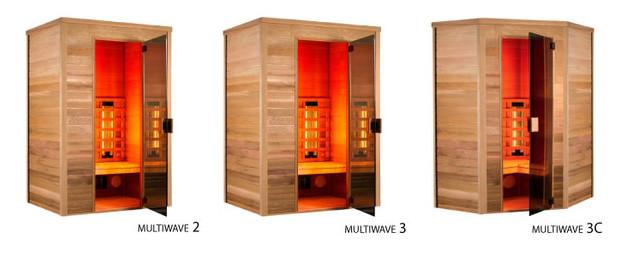 cabine de sauna - modeles sauna infrarouge multiwave$
