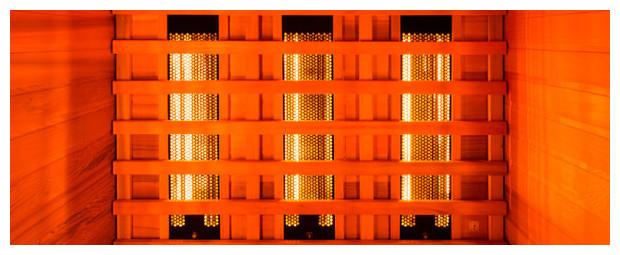 cabine sauna infrarouge - panneaux quartz et magnesium