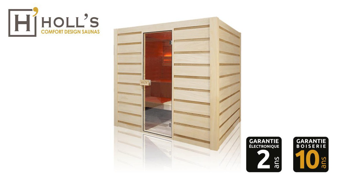 sauna traditionnel vapeur Holl's Eccolo