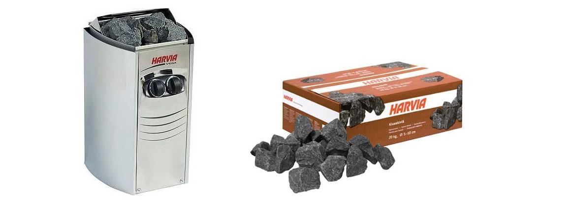 poêle harvia 4.5 kw pour sauna eccolo vapeur traditionnel