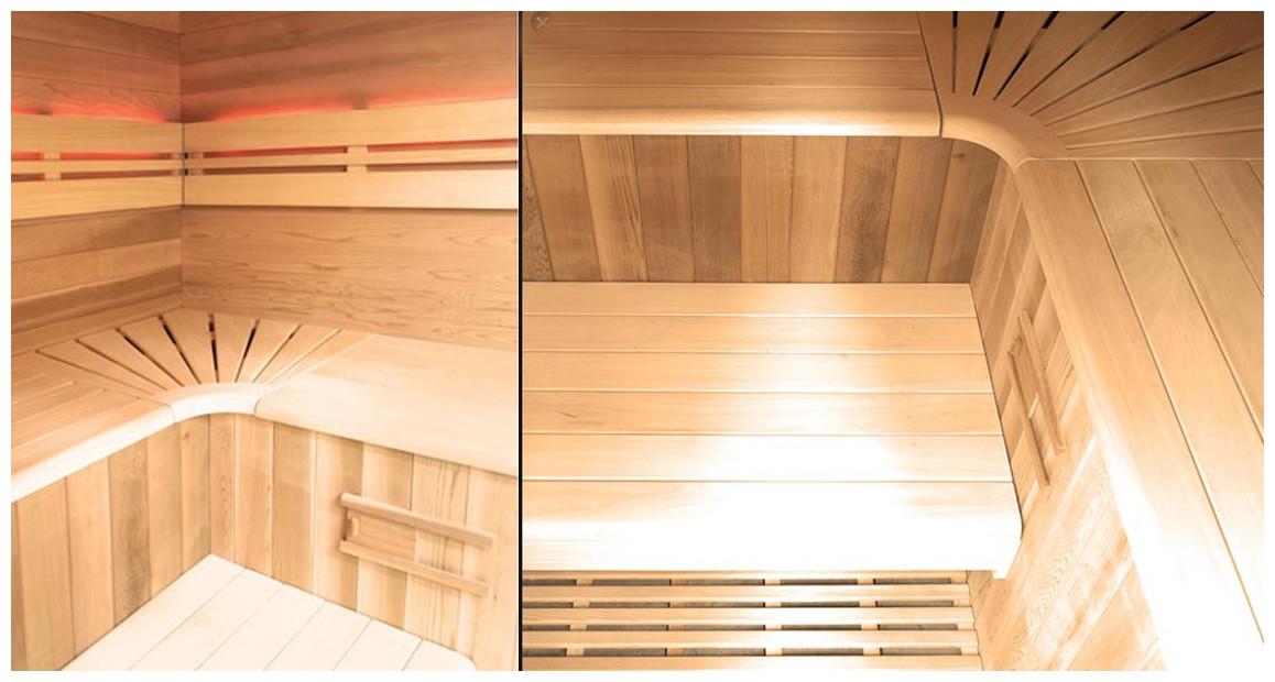 cabine du sauna vapeur traditionnelle holl's eccolo