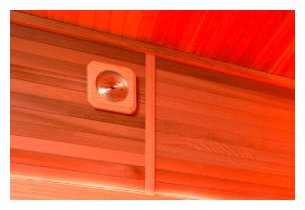 eccolo - cabine sauna vapeur - zoom detail
