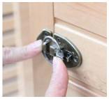 cabine sauna préfabriqué - système fixation facile