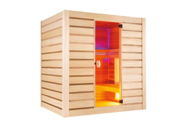 Cabine de sauna - Sauna vapeur et infrarouge combiné