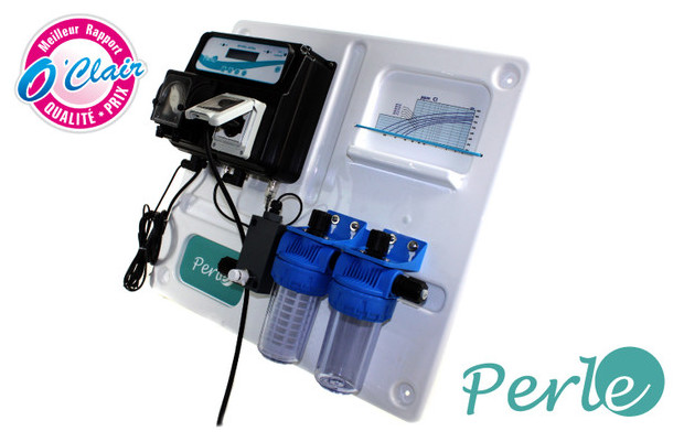 panneau de regulation - ph et redox par electrolsyeur