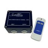 boîtier télécommande radio 1 canal avec télécommande 2 boutons