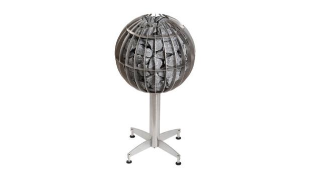 Poele Globe Harvia pour sauna vapeur, avec pied support inclus