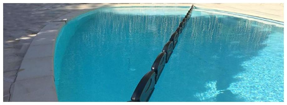 pack flotteur d'hivernage pour piscine en situation
