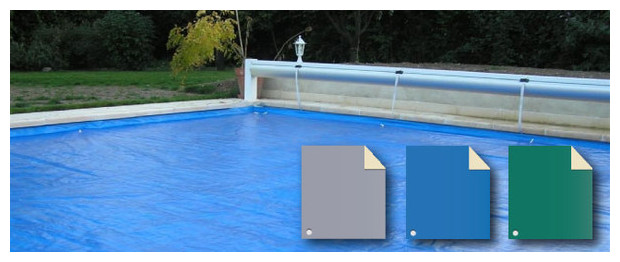 Nova plus la couverture de protection pour volet for Protection pour piscine
