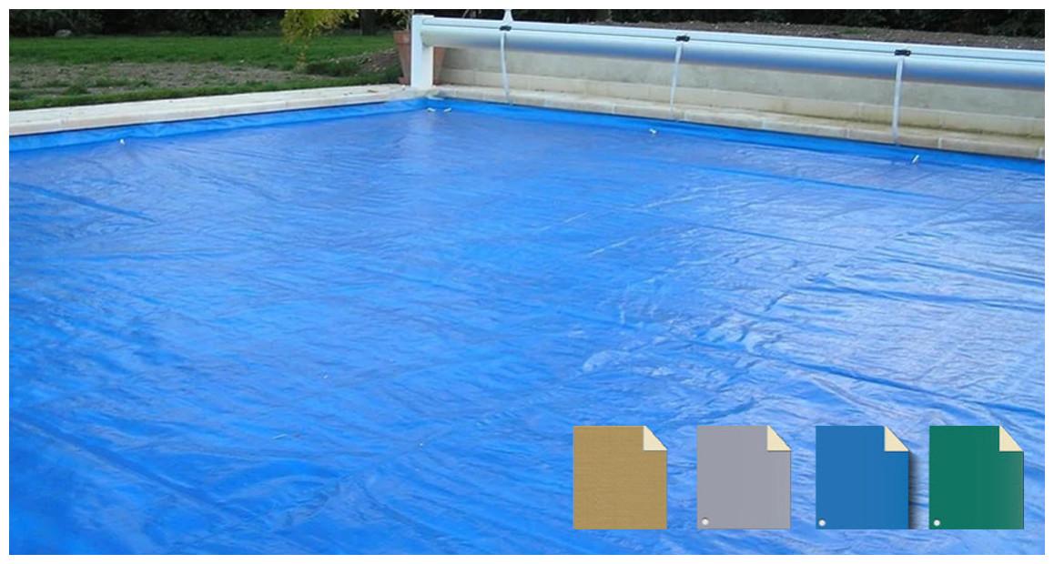 bâche nova plus pour protection volet de piscine