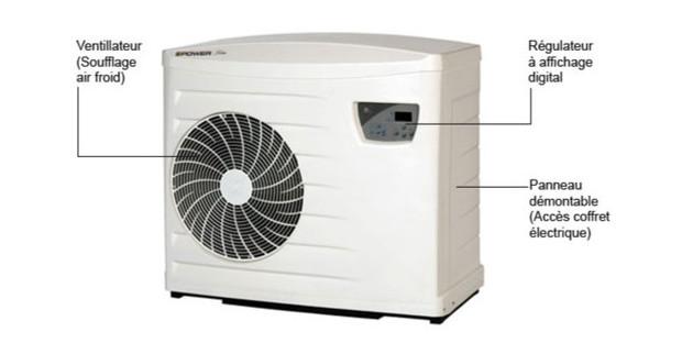 powerfirst premium pompe a chaleur piscine zodiac piscine center net. Black Bedroom Furniture Sets. Home Design Ideas