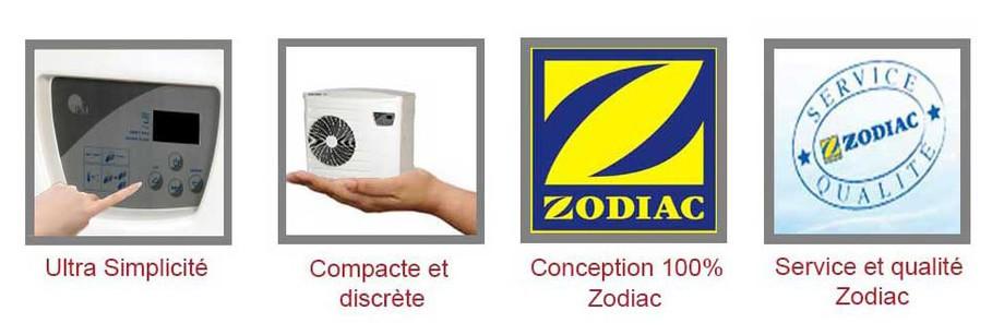avantages de la pompe à chaleur Powerfirst Premium by Zodiac