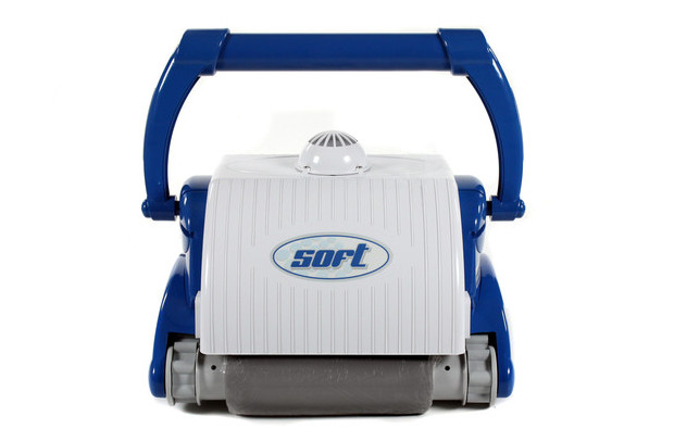 robot soft pour piscine 12x6 - vue de face