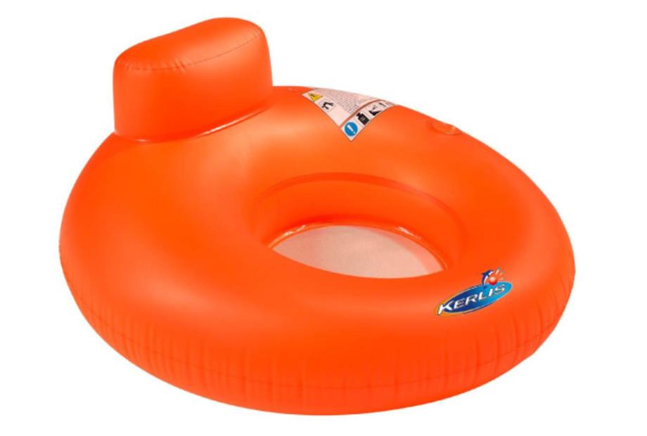 Siège Hamac Gonflable Kerlis pour piscines - Coloris Orange