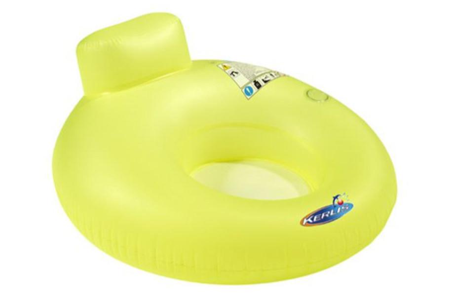 Siège Hamac Gonflable Kerlis pour piscines - Coloris Vert