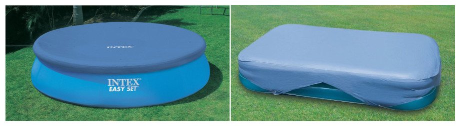 Couverture hivernage piscine hors sol ronde intex for Bache pour piscine enterree