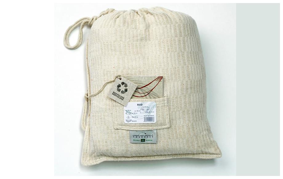 sac de rangement du hamac Rio en situation