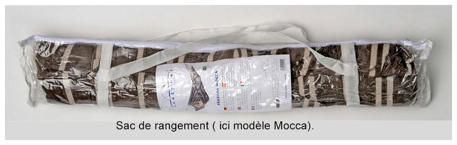 sac de rangement du hamac Brasilia en situation