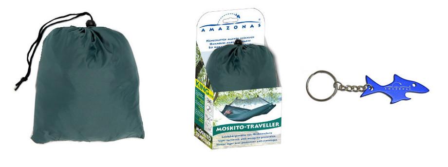 sac de rangement du hamac Moskito traveller en situation