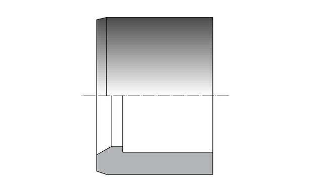 reduction PVC a coller MxF - schema