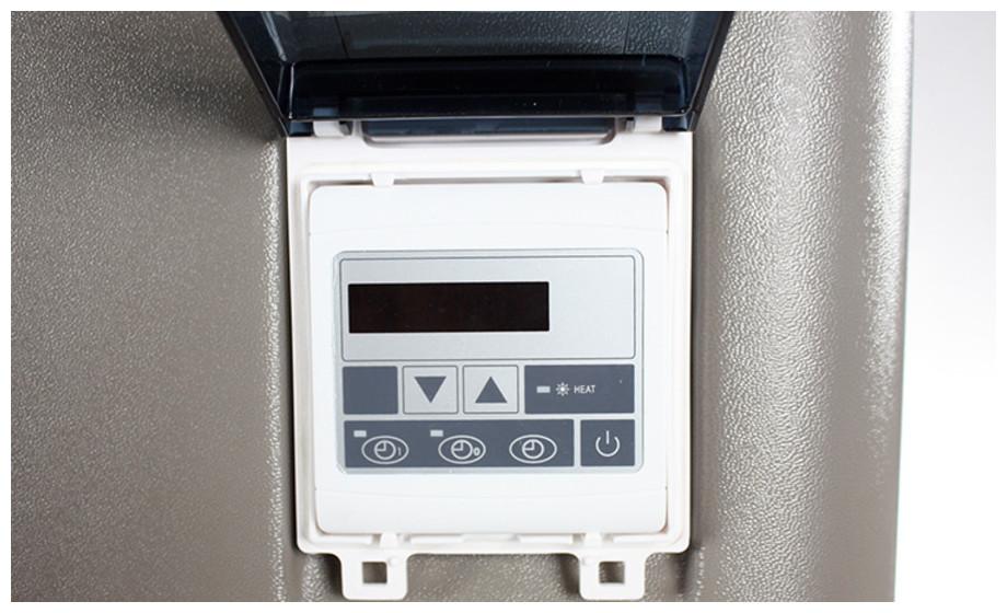 Pompe à chaleur Pac First Elite - zoom bornier connexion