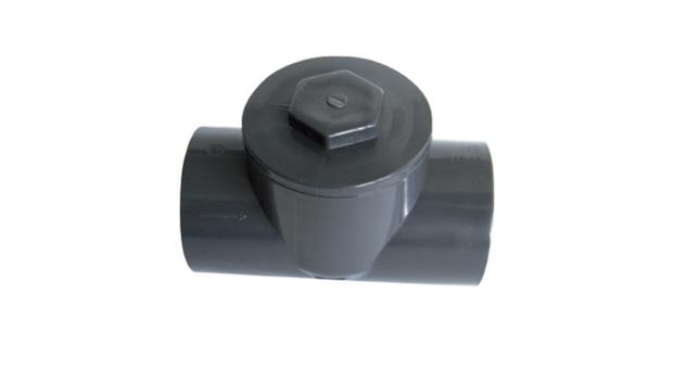 raccord hydraulique PVC - clapet anti-retour à battant