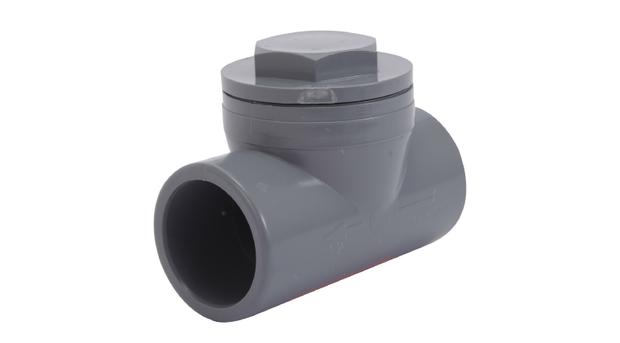 Clapet pvc anti retour raccordement hydraulique femelle for Clapet anti retour piscine