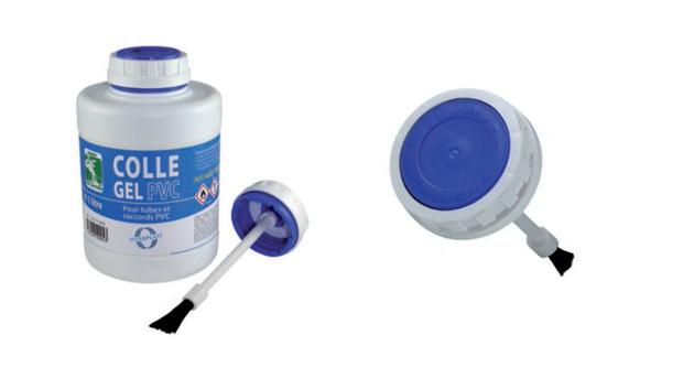 Colle raccords PVC interfix - pinceau intégré