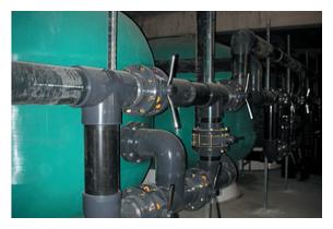 Tube et raccord PVC filtration