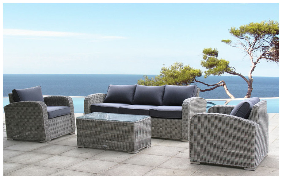 toscane agr able salon de jardin 5 places piscine center net. Black Bedroom Furniture Sets. Home Design Ideas