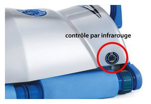 robot piscine ultra max - fonction infrarouge
