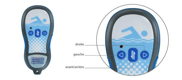 robot piscine ultramax - telecommande