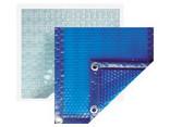 Bâche solaire pour piscine bois octogonale allongée 637 x 412 Woodfirst Original