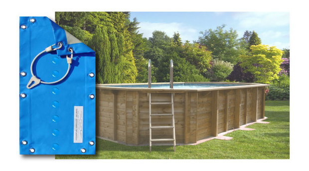 bache hiver pour piscine bois woodfirst original