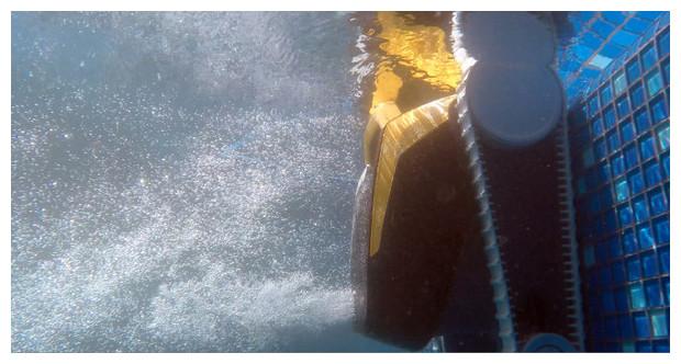 robot dolphin e20 - vue under