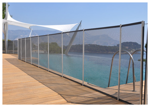 Cloture et barri re amovible pour piscine piscine center net for Piscine barriere