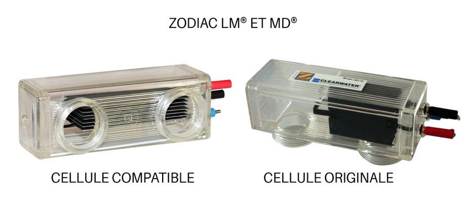 Cellule électrolyse compatible avec les appareils Zodiac