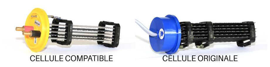 Cellule d'électrolyse compatible pour Paramount®