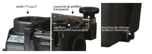 hayward pompe superpump details