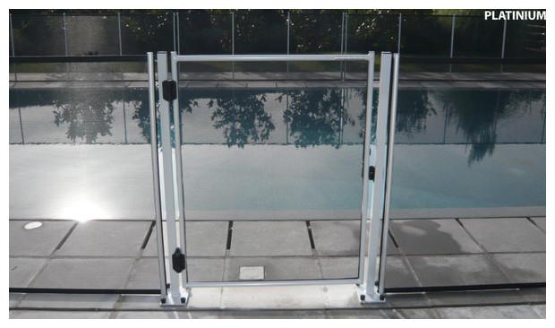 portillon - barriere de securite beethoven - fixation platine