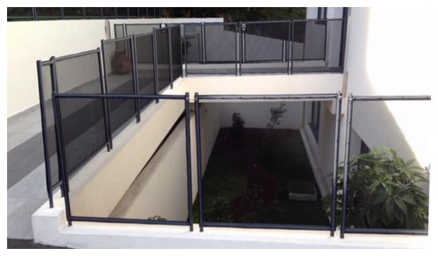 barriere de protection pour piscine beethoven rigide