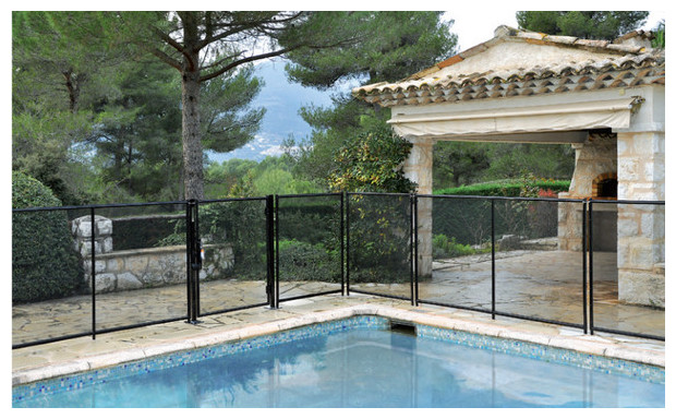 Barri re de protection piscine beethoven d montable for Barriere piscine beethoven prestige