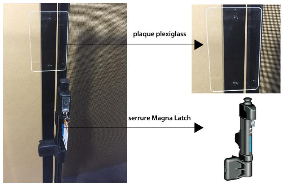 Barrière de sécurité Beethoven Rigide - portillon rigide