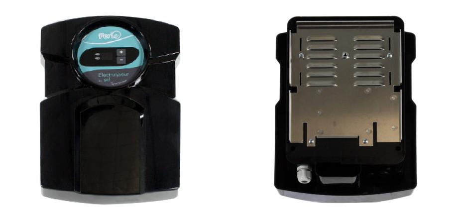Electrolyseur piscine Perle - vue face et vue dos